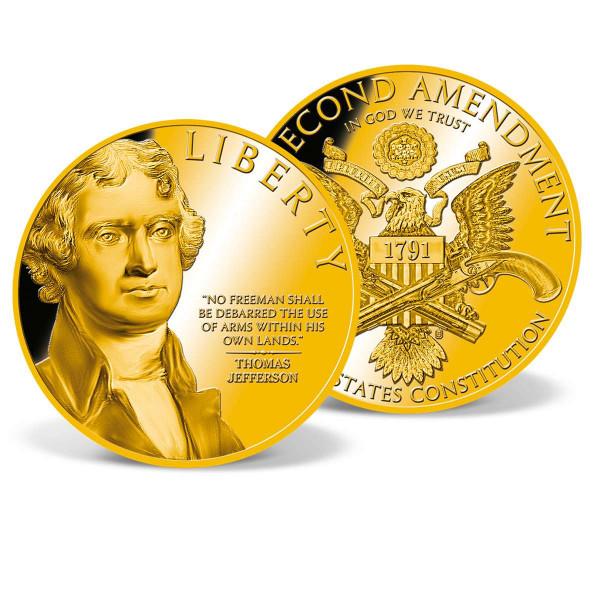 Thomas Jefferson Second Amendment Commemorative Coin US_9045101_1