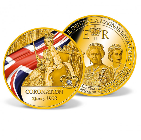 Coronation of Queen Elizabeth II Commemorative Strike US_9173153_1