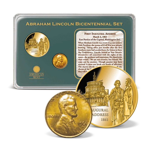 Lincoln's 1st Inaugural Address Coin Set US_9170979_1