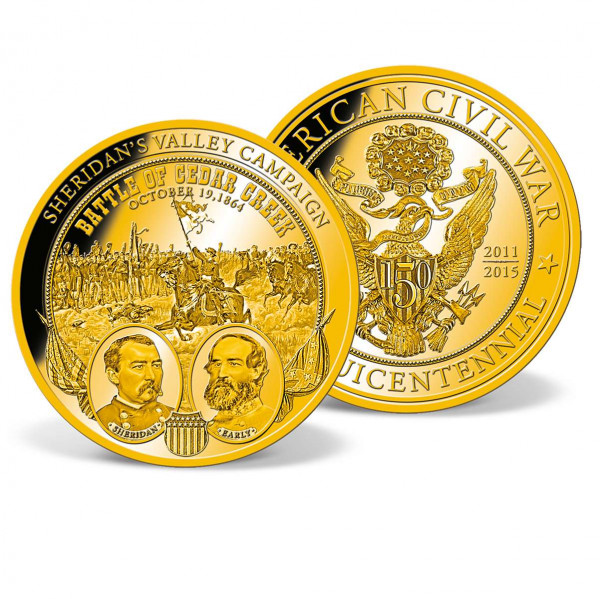 Sheridan's Valley Campaign Colossal Commemorative Coin US_9035601_1