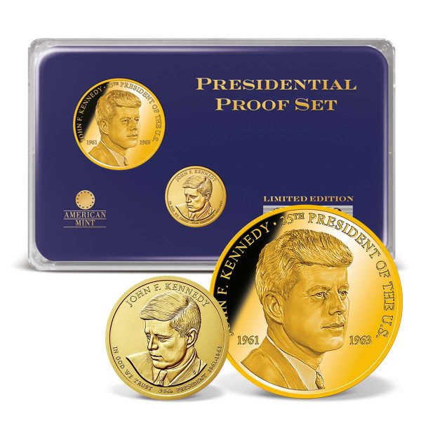 John F. Kennedy Presidential Commemorative Coin Set US_1702036_1