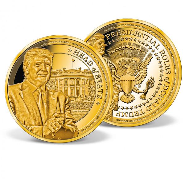 Donald Trump Head of State Commemorative Coin