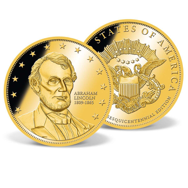 Abraham Lincoln Commemorative Gold Coin US_2160361_1