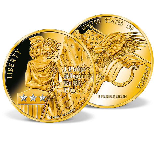 Pledge of Allegiance Colossal Commemorative Coin US_8300651_1