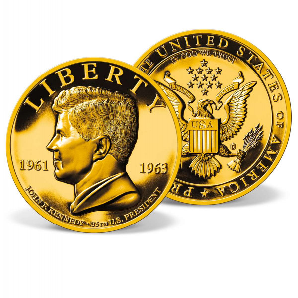 John F. Kennedy High-relief Commemorative Coin US_1701951_1
