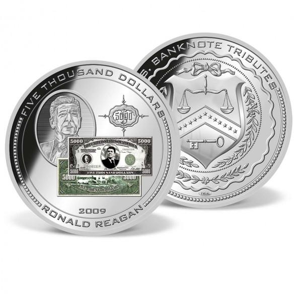 5,000 Dollar Reagan Banknote Trial US_9170451_1