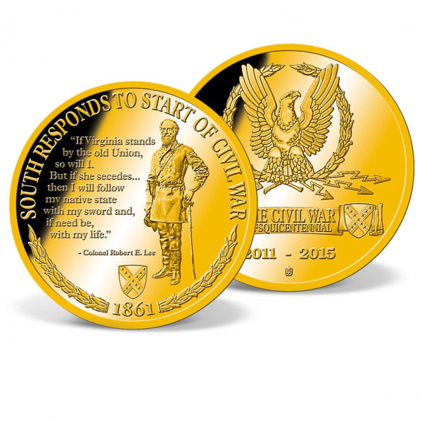 Robert E. Lee Inspirations Commemorative Coin US_9173361_1
