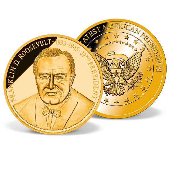 Franklin D. Roosevelt Commemorative Gold Coin US_1711535_1