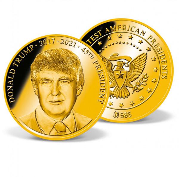 President Donald Trump Commemorative Gold Coin US_1701650_1