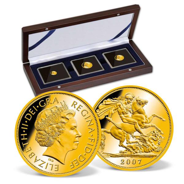 Sovereign Queen Elizabeth II Gold Sovereign 3-Coin Set US_2460419_1