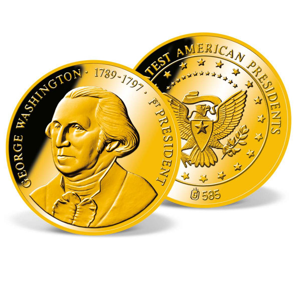 George Washington Commemorative Gold Coin US_1711529_1