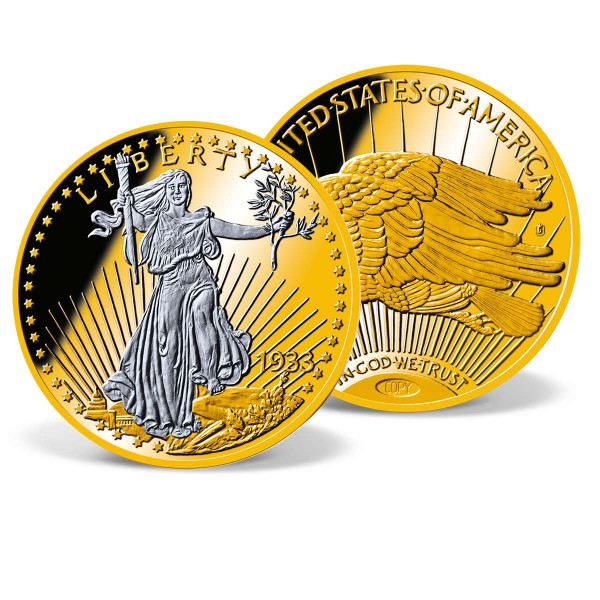 1933 Gold Double Eagle Platinum-Accented Coin US_8220080_4