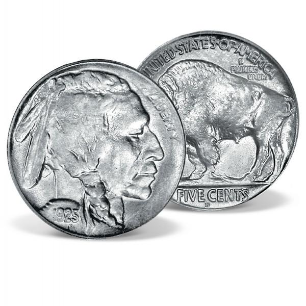 Genuine Buffalo Nickel US_2511824_1