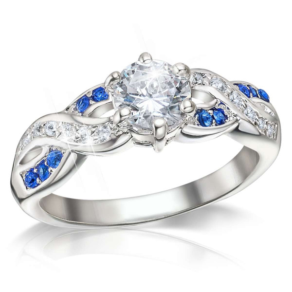 Touch of Sapphire DiaFlame® Ring US_3335240_1