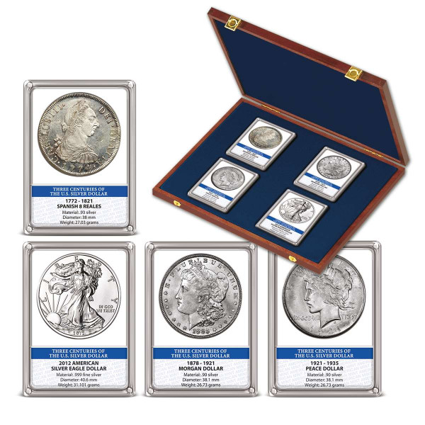 Three Centuries of the Silver Dollar Coin Set US_1550276_1