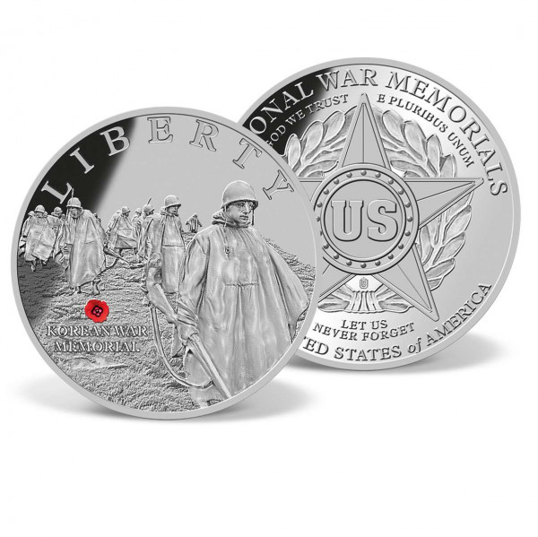 Korean War Memorial Commemorative Coin US_1701851_1