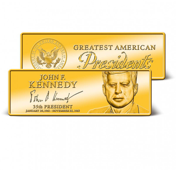 John F. Kennedy Commemorative Ingot US_9171280_1