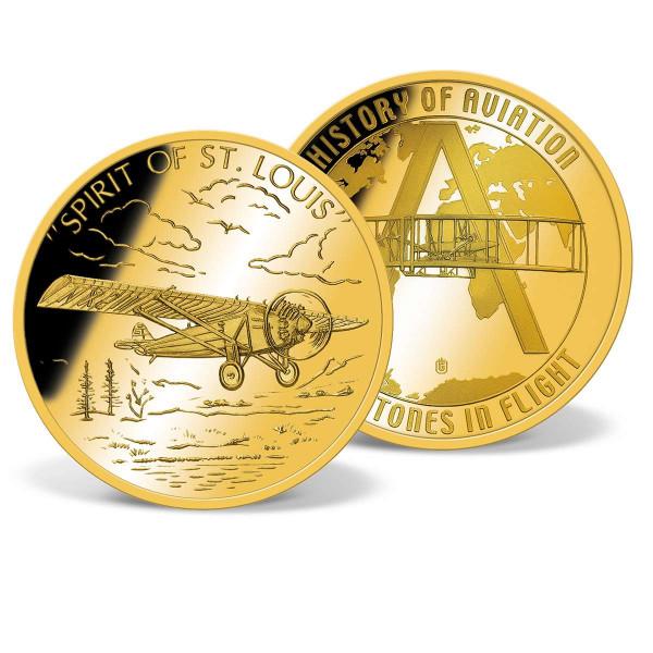 Spirit of St. Louis Commemorative Coin US_2809710_1