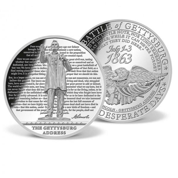 The Gettysburg Address Supersize Commemorative Coin US_9045059_1