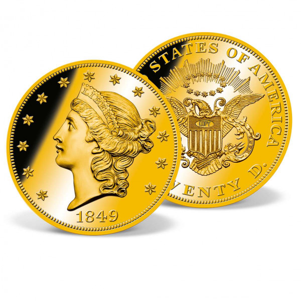 1849 Liberty Head Double Eagle Replica Archival Edition US_8201323_4