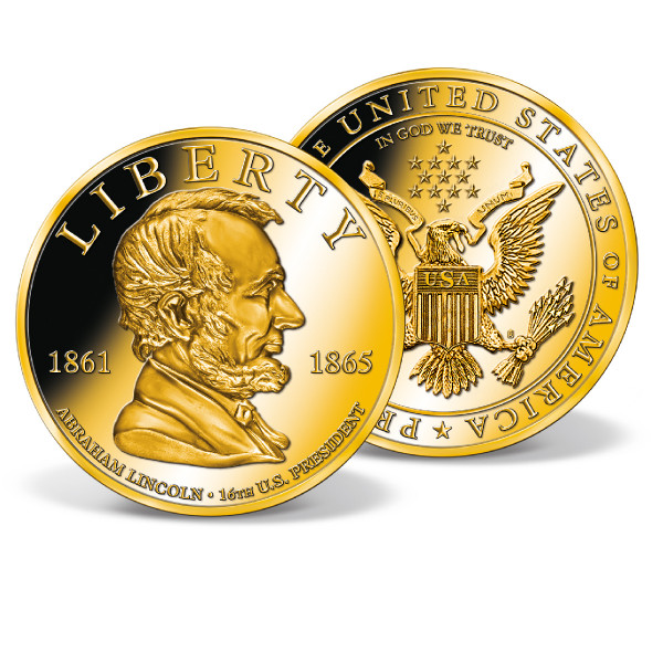 Abraham Lincoln High-Relief Commemorative Coin
