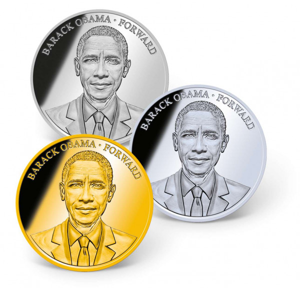 President Barack Obama Precious Metal Coin Set US_1700251_1