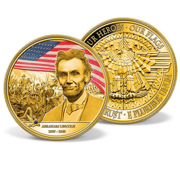 Abraham Lincoln Colossal Commemorative Coin US_9174611_1
