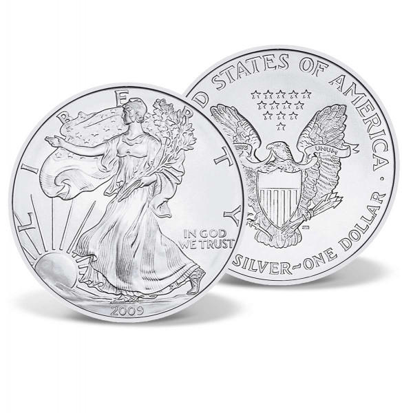 2009 Silver Eagle Bullion Coin US_2716995_1