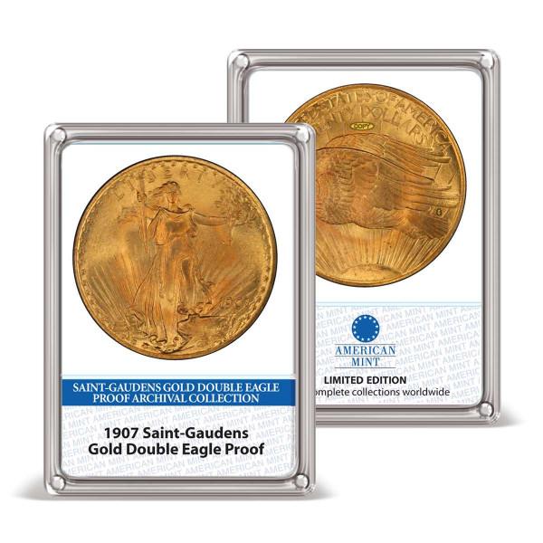 1907 Saint-Gaudens Gold Double Eagle Proof Archival Edition US_9178201_6