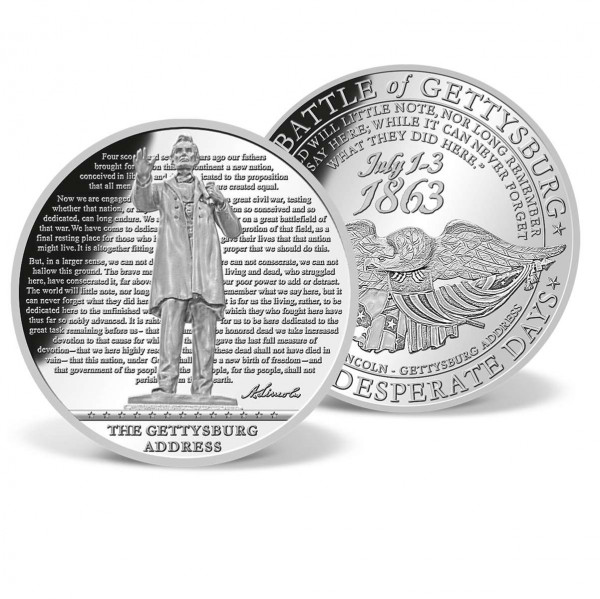 The Gettysburg Address Supersize Commemorative Coin US_9045059_1