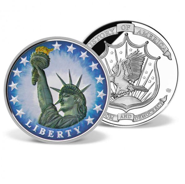 Statue of Liberty Commemorative Color Coin US_8201300_1