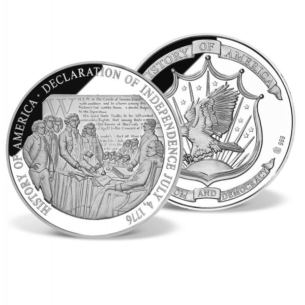 Declaration of Independence Commemorative Coin US_8201020_1