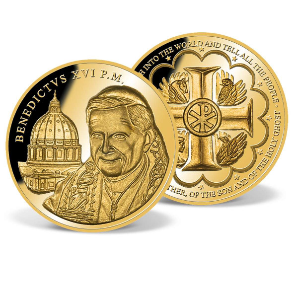 Pope Benedict XVI Commemorative Gold Coin US_2628129_1