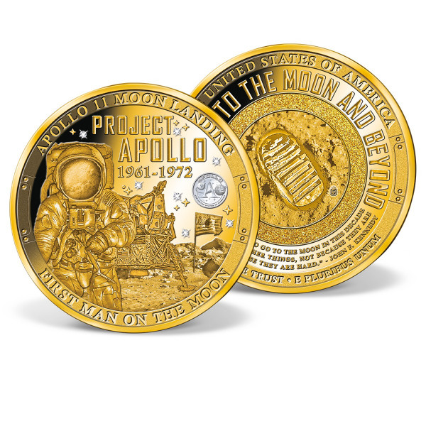 Project Apollo Colossal Commemorative Coin US_8203051_1