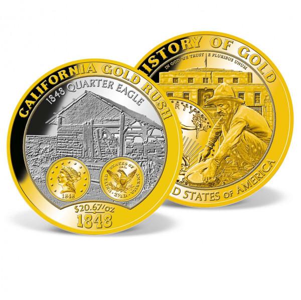 Colossal California Gold Rush Commemorative Coin US_9175771_1