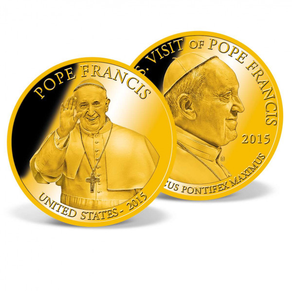 Pope Francis - USA 2015 Commemorative Coin US_9533453_1