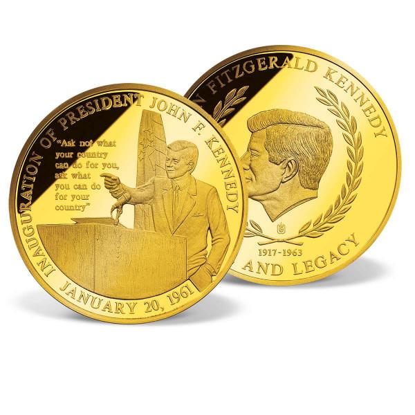 John F. Kennedy Inaugural Speech Commemorative Coin US_2341350_1