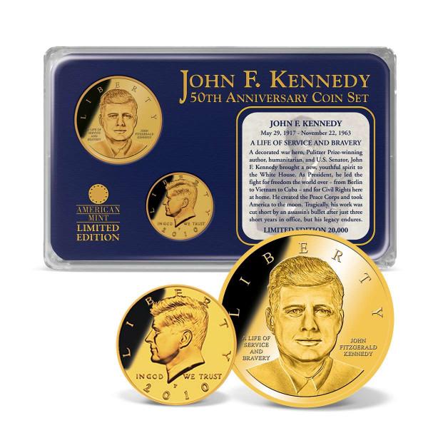 John F. Kennedy 50th Anniversary Coin Set US_9175062_1