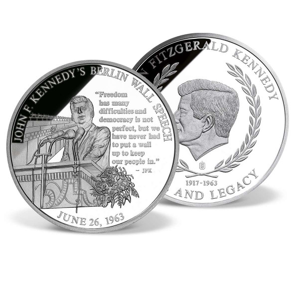 John F. Kennedy's Berlin Wall Speech Commemorative Coin US_2341331_1