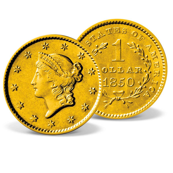 1849-1854 $1 Liberty Head Gold Coin US_2711210_1
