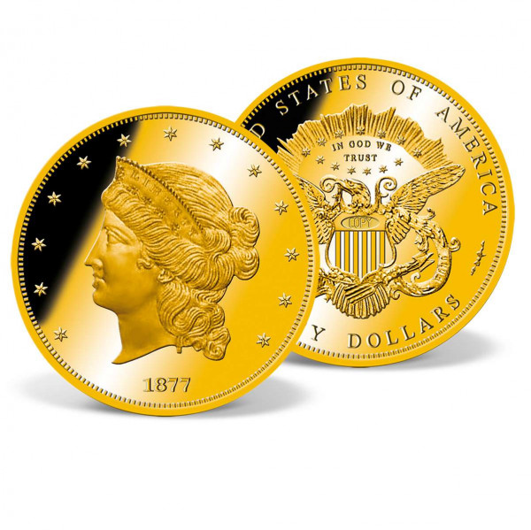 1877 $50 Half Union Pattern Replica Achival Edition US_8201426_1