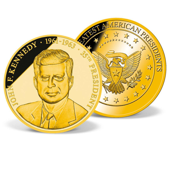 jfk gold coin set