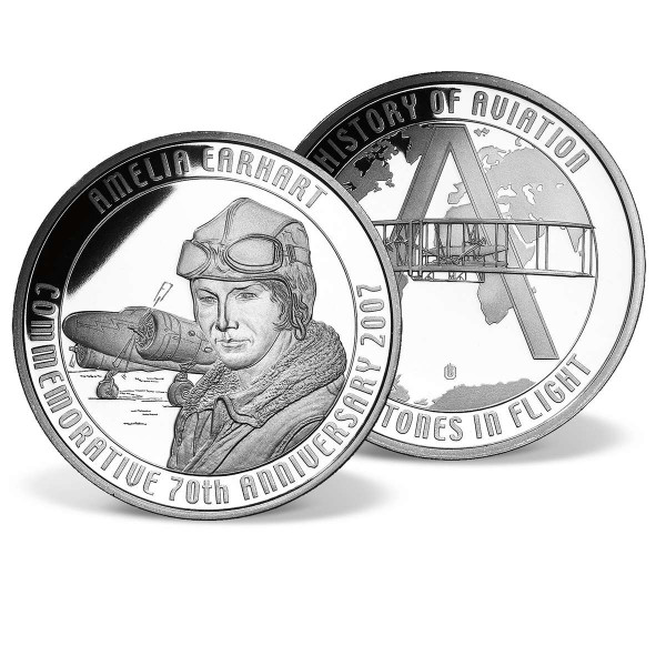Amelia Earhart Commemorative Coin US_2809640_1