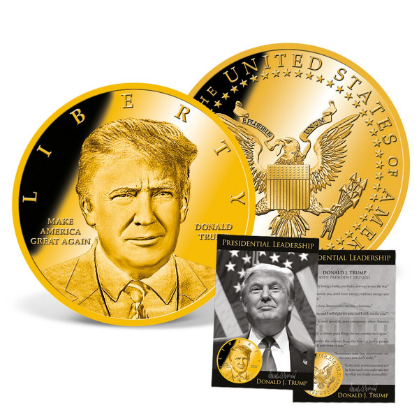'Donald Trump Presidential Leadership' Coin US_9172983_1