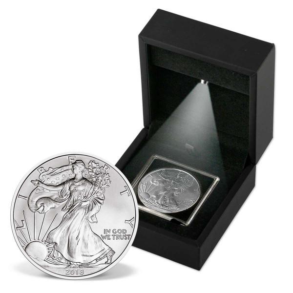 2018 Silver Eagle Bullion Coin in Light Box US_2717036_1