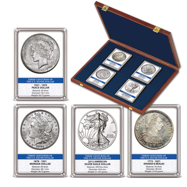 Three Centuries of the Silver Dollar Coin Set US_1550277_1