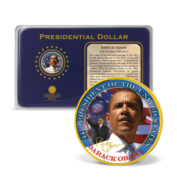 Barack Obama Presidential Dollar Color Coin US_1700015_5