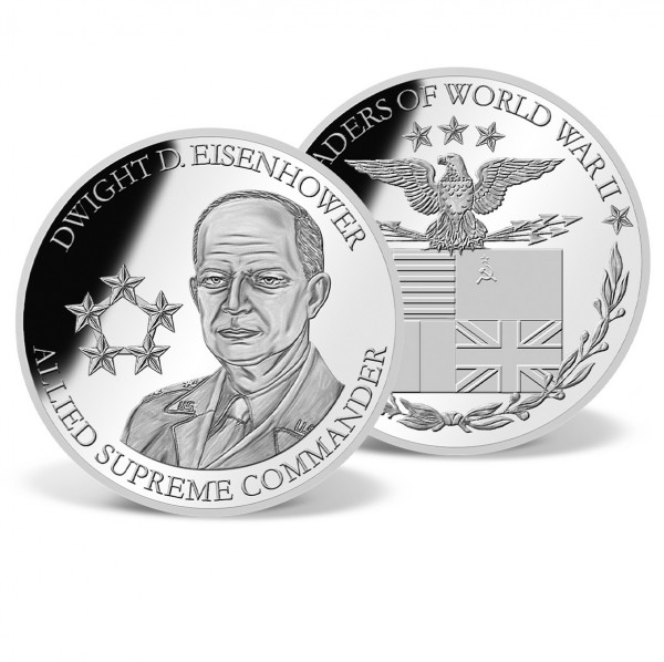 General Dwight D. Eisenhower Commemorative Coin US_9170293_1