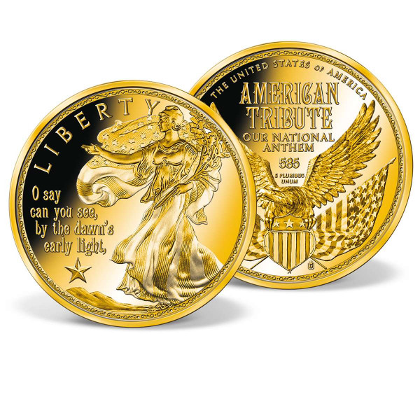 Dawn's Early Light Commemorative Gold Coin US_9174671_1