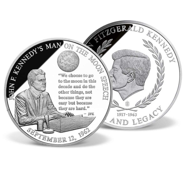 John F. Kennedy's Man on the Moon Speech Commemorative Coin US_2341334_1
